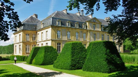 Chateau de Pange : Château de Pange - Le parc