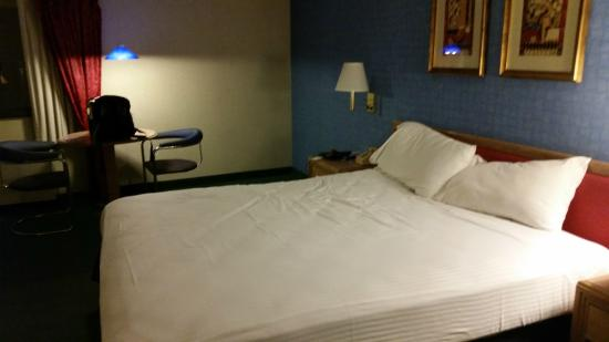 The Sands Regency Casino Hotel: The bed