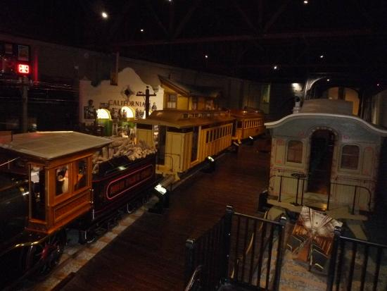 California State Railroad Museum: View From Above