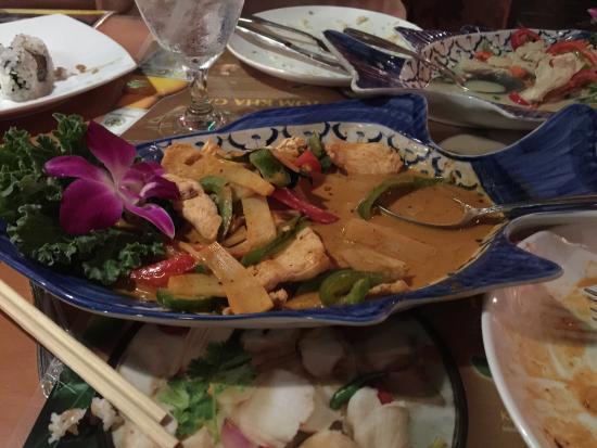 Lanna Thai Restaurant: Delicious Red Curry