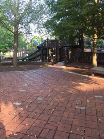 Huntsville, AL: Great area for kids to play and have fun, don't really think it's suitable for small kids