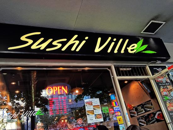 bento box lunch at sushi ville picture of sushi ville vancouver tripadvisor. Black Bedroom Furniture Sets. Home Design Ideas