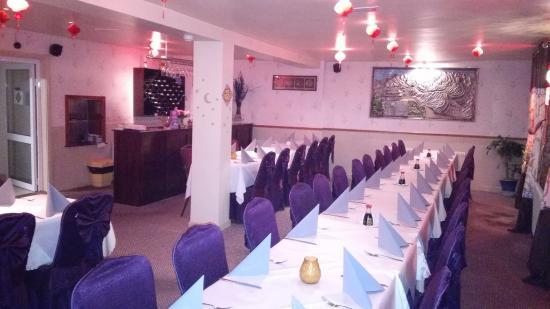 Nanjing Listowel Chinese Restaurant : Dinner room