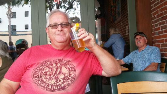 Anacapa Brewing Company: This is me drinking one of their special beers.