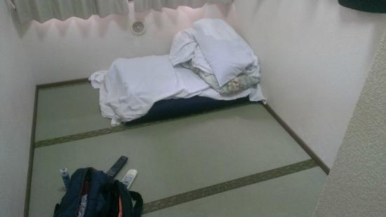 Hotel Hikari : 狭いっちゃ、狭いですけどね