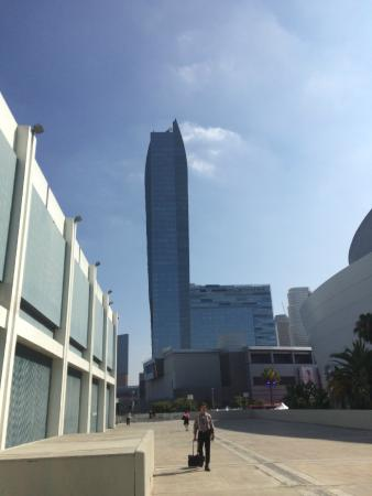 View from the LA convention center