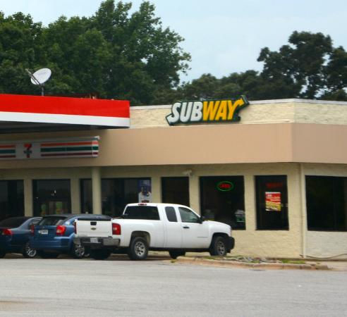 Harmony, NC: Next to the 7-Eleven