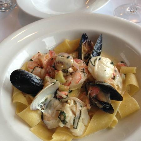 Ocean7 Restaurant, AQUA Bistro & Wine Bar: Homemade Seafood Pasta