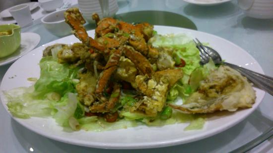 Eastwood Garden Peking Restaurant : Deep Fried Crab