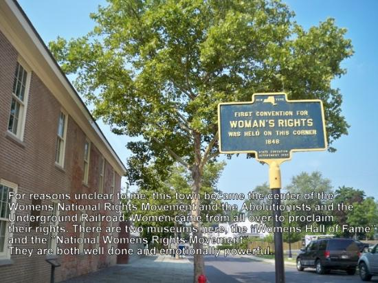 site of first women s rights convention 1848 picture of women s rh tripadvisor com
