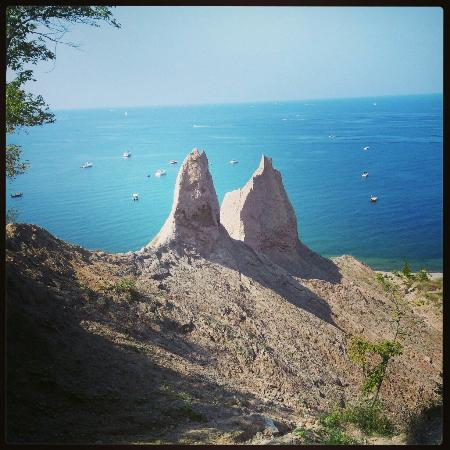 Wolcott, NY: Chimney Bluffs State Park