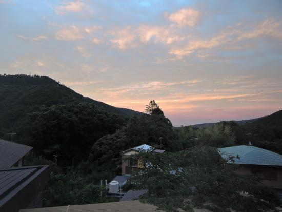Hakone Reinanso : 部屋からの眺め