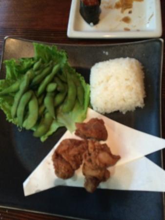 Kenichi Pacific Sushi & Pacific Rim: kids karaage(frid chikin)(・_・;)