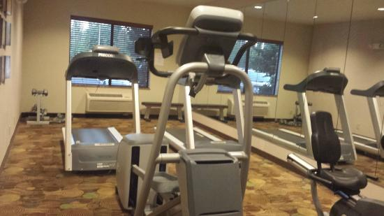 Holiday Inn Express Hotel & Suites Vancouver Portland North: Treadmills