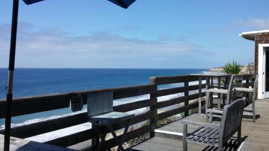 Crystal Cove Beach Cottages: From the deck of Cottage 38, Beachcomber's Lodge