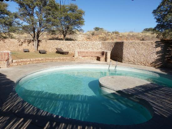 Swimming pool picture of twee rivieren restcamp kgalagadi transfrontier park tripadvisor for Camping sites with swimming pools