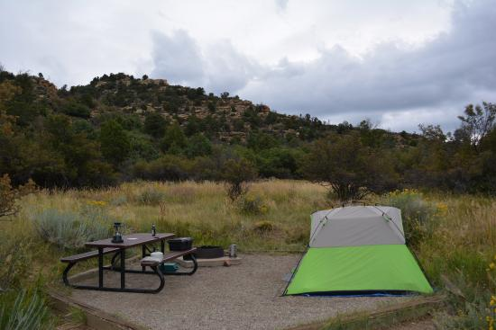 Morefield Campground: Full Site 41 Space