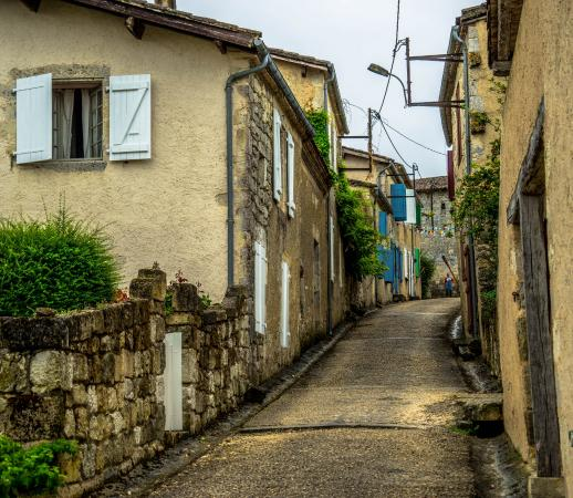 Lagarde, Frankrike: Small Houses in Which we stayed