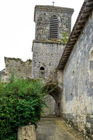 Lagarde, Frankrike: Bell Tower in the Village