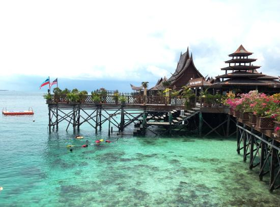 ‪‪Sipadan Mabul Resort‬: Water Bungalow‬