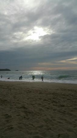 Fistral Beach: Beautiful surf beach and sunset