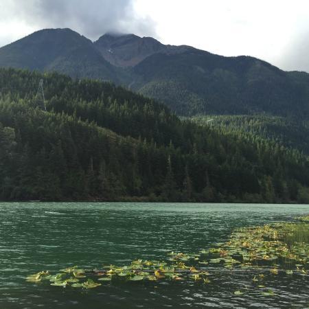 Gates Lake From Dock Picture Of Whispering Falls Resort Birken Tripadvisor