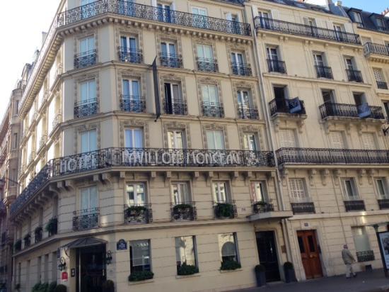 Pavillon Monceau Hotel Front View Photo De Hotel Pavillon Monceau