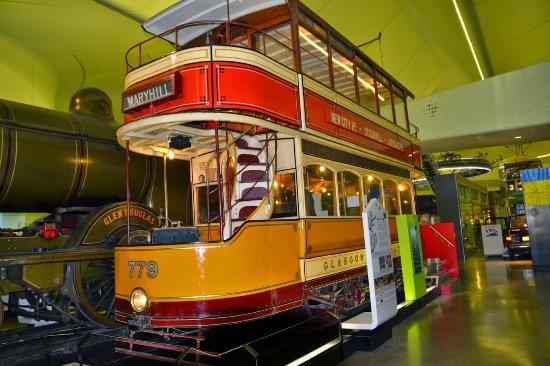 glasgow subway cable power house model picture of the riverside museum of transport and travel. Black Bedroom Furniture Sets. Home Design Ideas