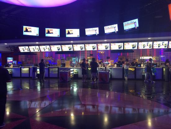 The Space Cinema: Interno del The Space
