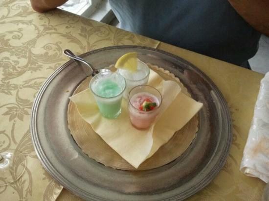 Vittorio al Mare: degustazione di sorbetti