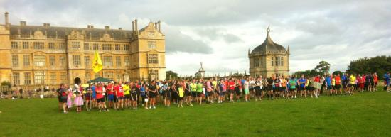 North Perrott, UK: Parkrun at nearby Montacute
