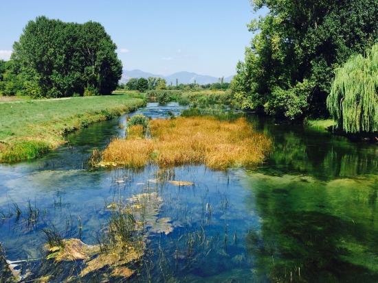 Ljubuski, Bosnia-Herzegovina: Front view of Morel Most +views of river.