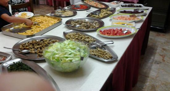 Hotel La Playa : Buffet verdure