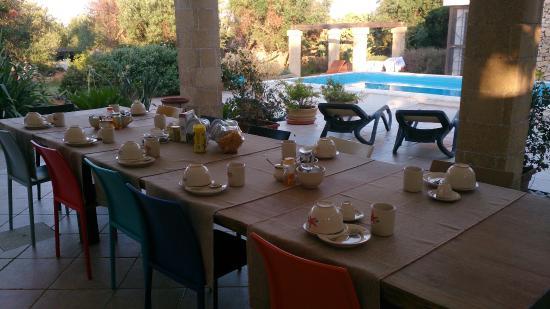 Io Mammata e Tu: tavolo per colazione