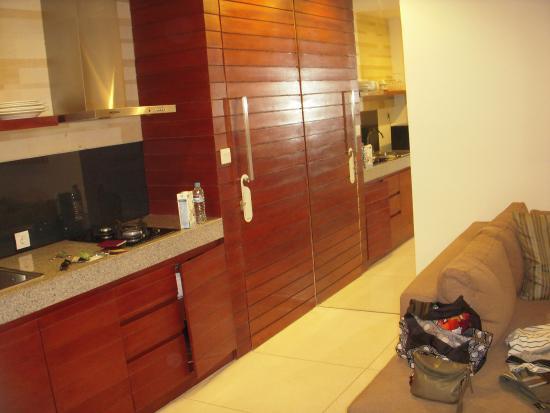 Smart Comfort: Kitchen area