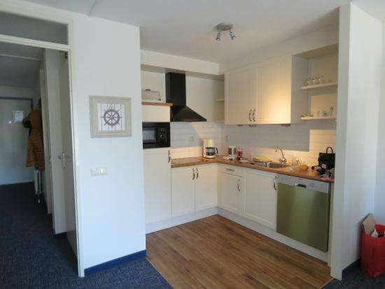 Wyspa Terschelling, Holandia: 4 persoons appartement - Keuken