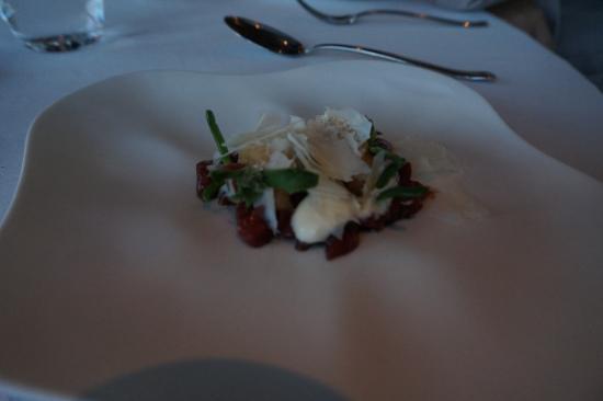 Quay Restaurant: Tiny portion but nice presentation