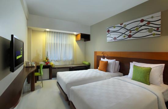 Primebiz Kuta Hotel : Twin room