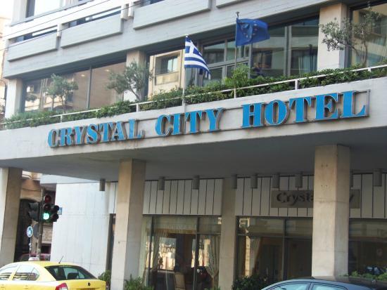 Crystal City Hotel Atenas Grécia