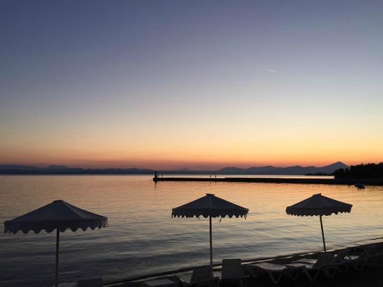 Palmariva  Beach Bomo Club: Закат на пляже