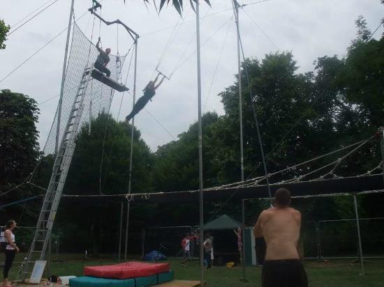 Gorilla Circus Flying Trapeze School Regent's Park ...