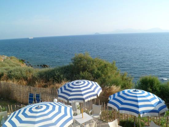 La Sorgente Resort : výhled z pokoje