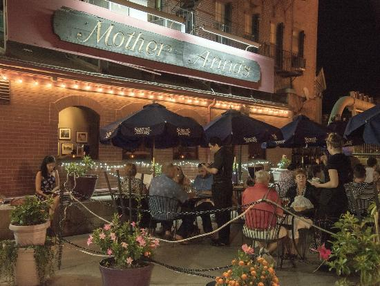 Huge Outdoor Seating Area On Hanover St Little Italy Picture Of