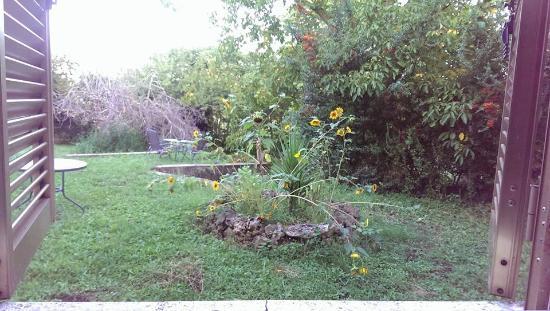 Il Giardino di Gust'e: dalla mia finestra