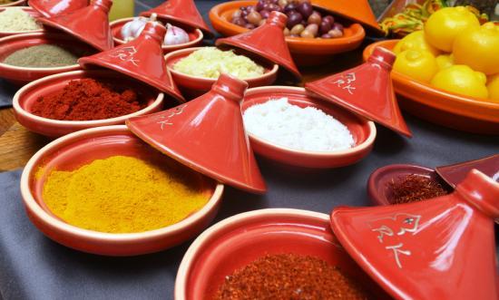 Restaurant Riad Kalaa: Les épices du Restaurant Kalaa