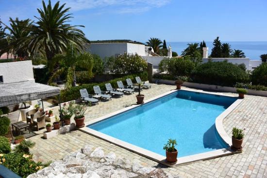 Romantik Villa: View from the Suite.