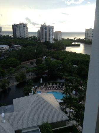 Naples Grande Beach Resort: Window views