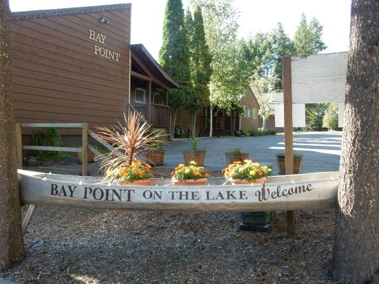 Bay Point on the Lake : Entrance