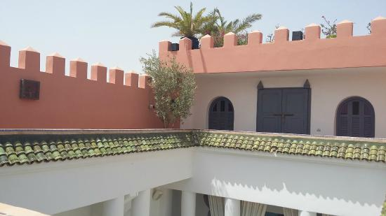Riad Shemsi: roof