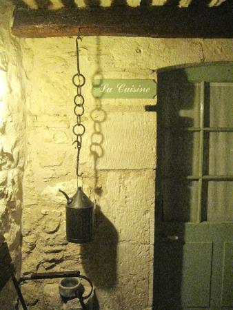 La Ferme de la Huppe : Outside our room - 'La Cuisine'
